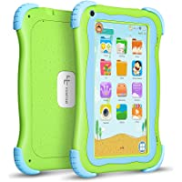 Yuntab Q91 7 inch Android Kids Tablet, Kids Software Pre-Installed, with Premium Parent Control, Quad Core CPU, 1+16GB, Duanl Camera, WiFi, Bluetooch Tablet for Kids (Green)