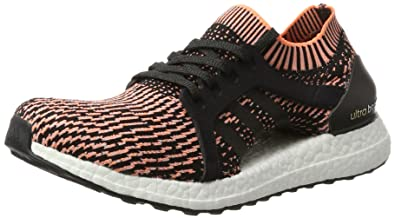 333c27dff42ac Adidas Kadın Koşu Yürüyüş Ayakkabısı BA8278 UltraBOOST X Siyah Mavi Turuncu  38