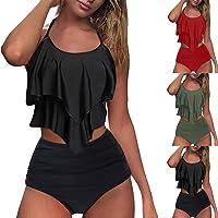 riou 2021 Nuevo Conjunto de Bikini para Mujer Push Up Trajes de Baño de Dos Piezas Moda Ropa de Playa Conjunto de…