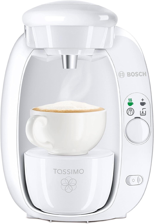 Bosch TAS2001 - Cafetera multibebidas Tassimo, color blanco ...