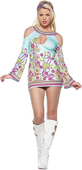 Hot pink gloved lace top dancer mini dress