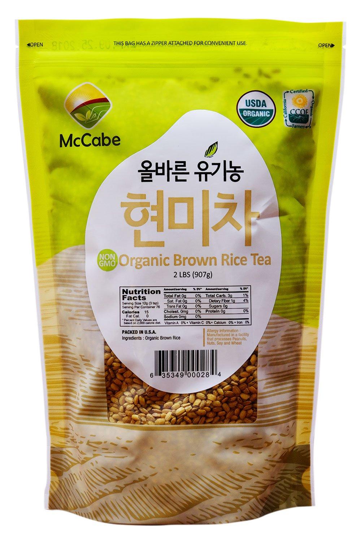 McCabe Organic Brown Rice Tea, 2-Pound