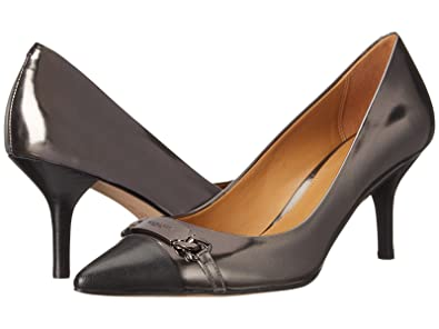 Amazon.com | Coach Bowery Pointed Toe Patent Leather Heels ...