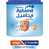 Aptamil 2 Follow On Formula Milk, 400g