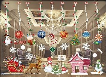 christmas window stickers newbee window decals diy removable vinyl wall door mural stickers for home - Christmas Window Stickers