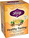 Yogi Teas Healthy Fasting Tea Bags, 16 Count