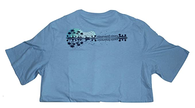 fc4636b9 Image Unavailable. Image not available for. Color: Vineyard Vines Boy's  Short Sleeve Graphic Pocket T-Shirt(Ocean ...