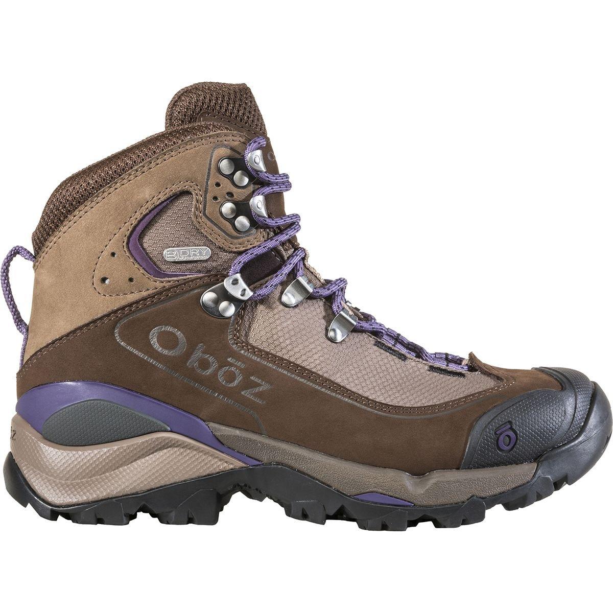 Oboz Wind River III b-dry Hiking Shoe – Women 's B074RMNLD6  Walnut/Plum 6.5 B(M) US