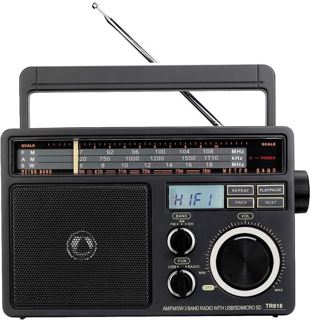 Electronics & Photo AM/FM Radios gaixample.org CWWHY Portable ...