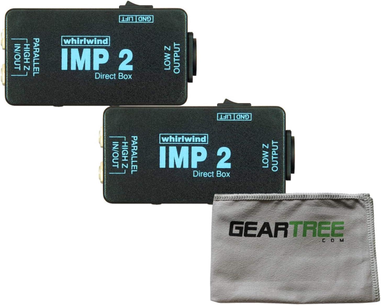 Whirlwind IMP 2 Caja directa de instrumentos pasivos de 1 canal ...