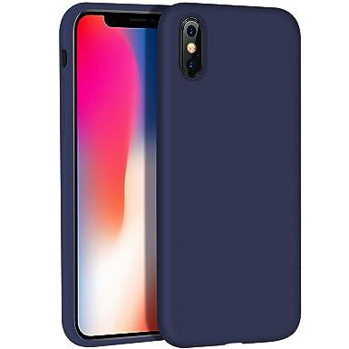 best website 9bdac 751a8 iPhone X Case Silicone,HOCO iPhone 10 Case Liquid Silicone Gel ...