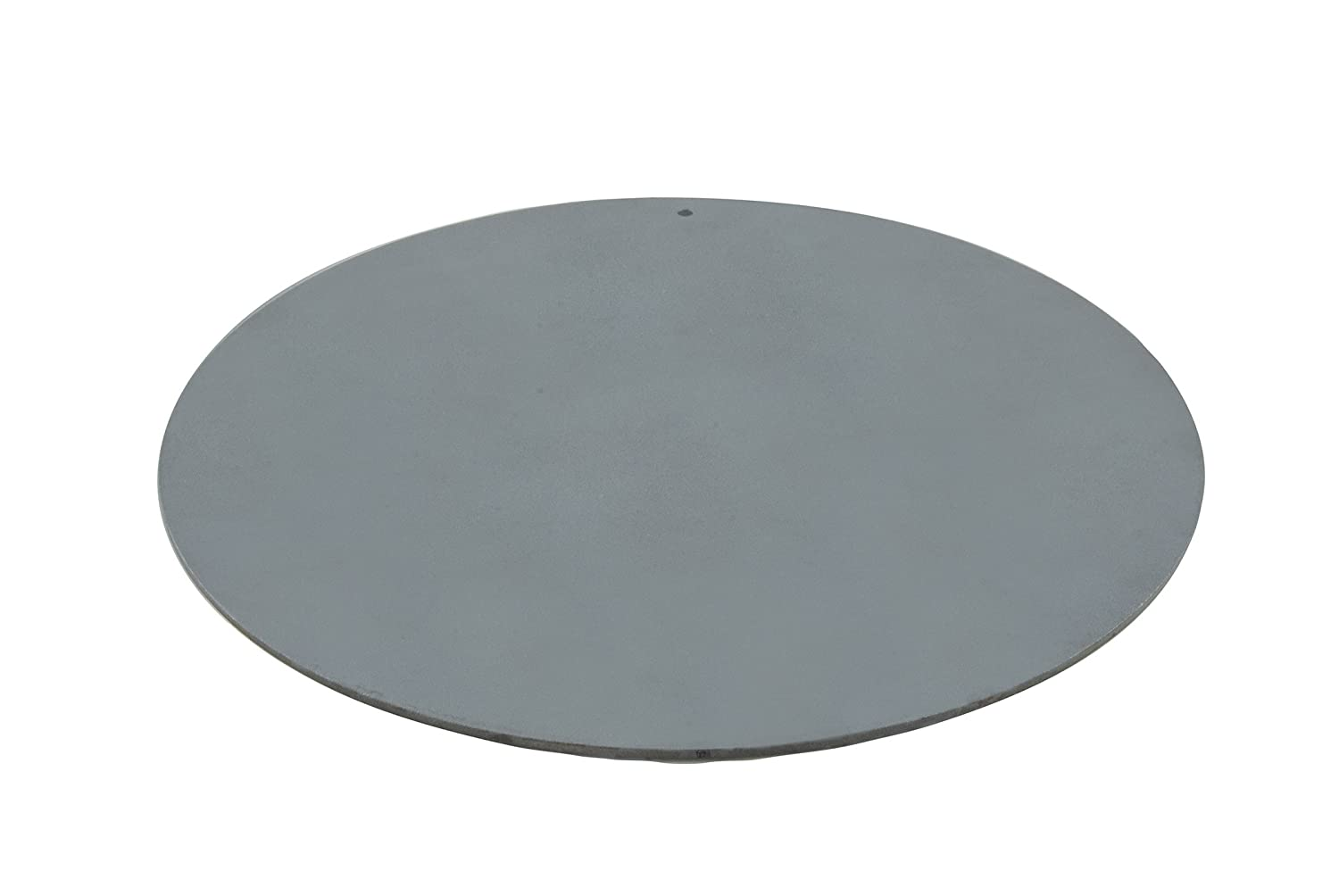 "Pizzacraft PC0307 Round Steel Baking Plate for Oven or BBQ Grill, 14"" Diameter"