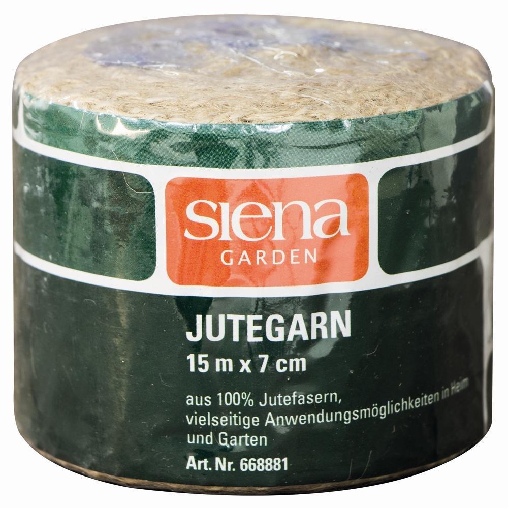 Siena Garden Spar-Set 10x: 668881 Jutegarn 15m, 7cm breit