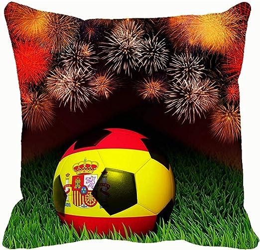 YSamuel Balón de fútbol Bandera de España Patrón en Parques Fútbol ...