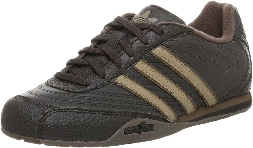 Adidas Goodyear Racer Kinder Schuhe Neu 34 Low Weiß Schwarz