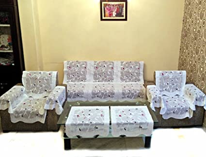 Buy SHC Rose Petal Polyester Net Sofa Slipcover Set With 6 Arms Cover  Online at Low Prices in India - Amazon.in a0a64ab451