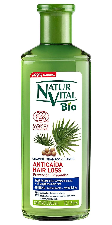 NaturVital Champú Bio Anticaída 300 ml: Amazon.es