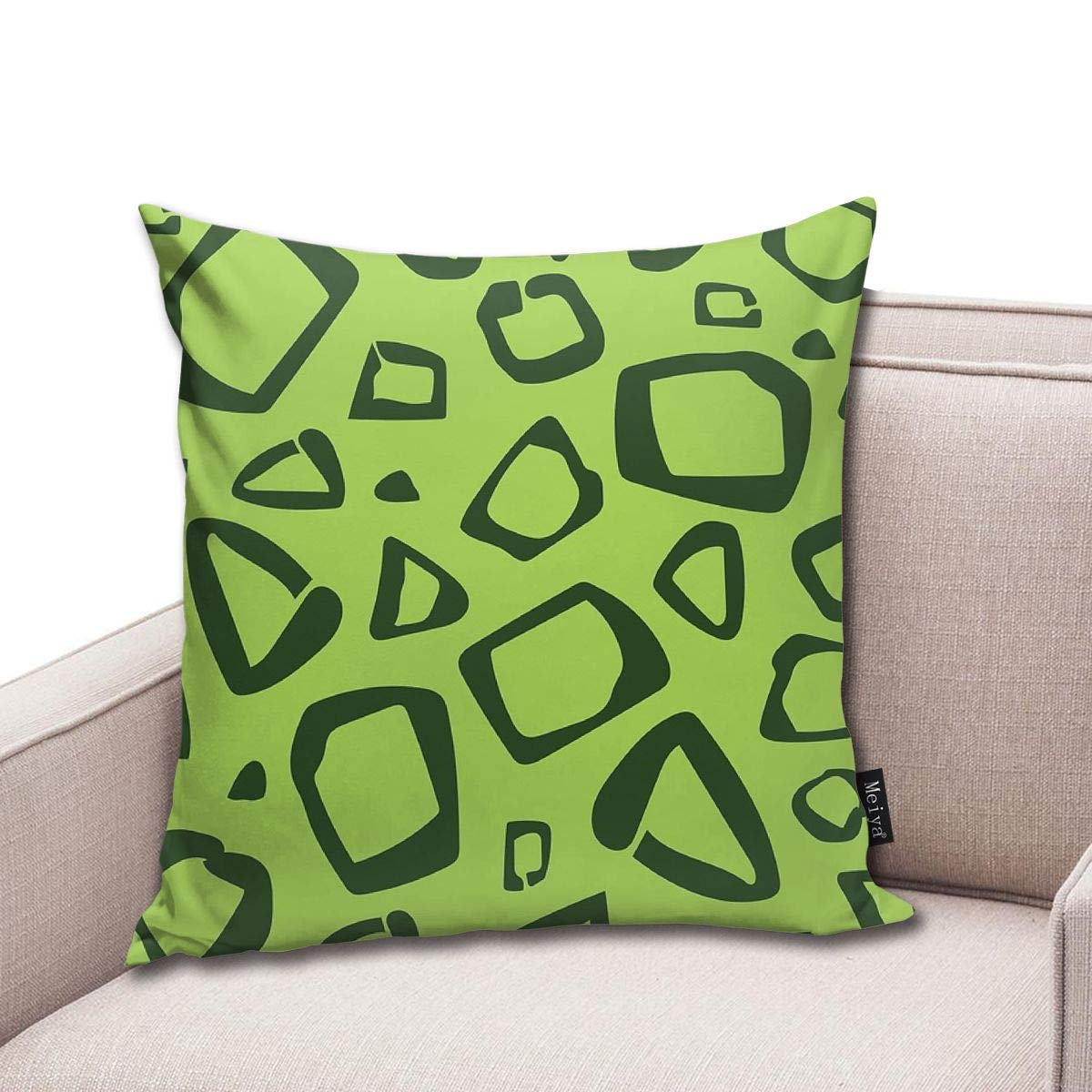 popluck Customize Funny Throw Pillow Cover 18 x 18 Inch ...