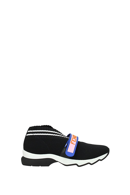 1f28bb80a9 Amazon.com   Fendi Rockoko Mesh Slip-On Sneaker, 37, Black   Fashion ...