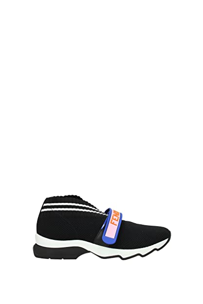 c92cd707 Fendi Sneakers Women - Fabric (8E6701ODHF070H) 3.5 UK: Amazon.co.uk ...