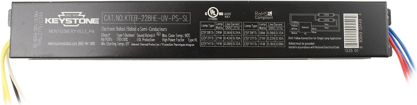 Keystone Electronic Ballast KTEB-226-UV-PS-DW