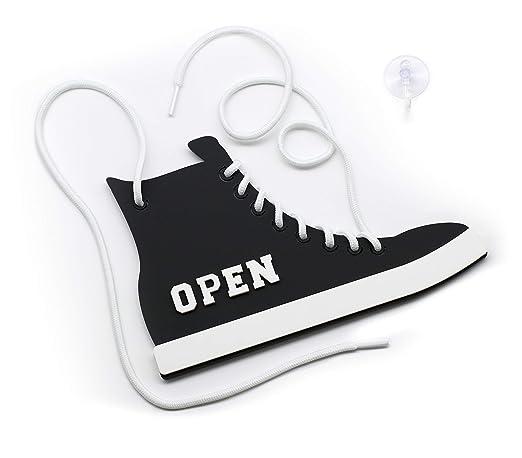 3DP Signs | Zapatos colgados - Open Closed - Abierto Cerrado ...