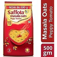 Saffola Masala Oats, Peppy Tomato, 500 g