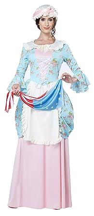 Amazon Com California Costumes Women S Colonial Lady Costume Clothing
