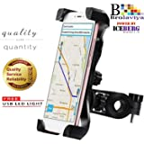 Iceberg Makers.in Universal Bike,Bicycle and Motorcycle Mount Phone Holder 360° Rotatable for All Mobile