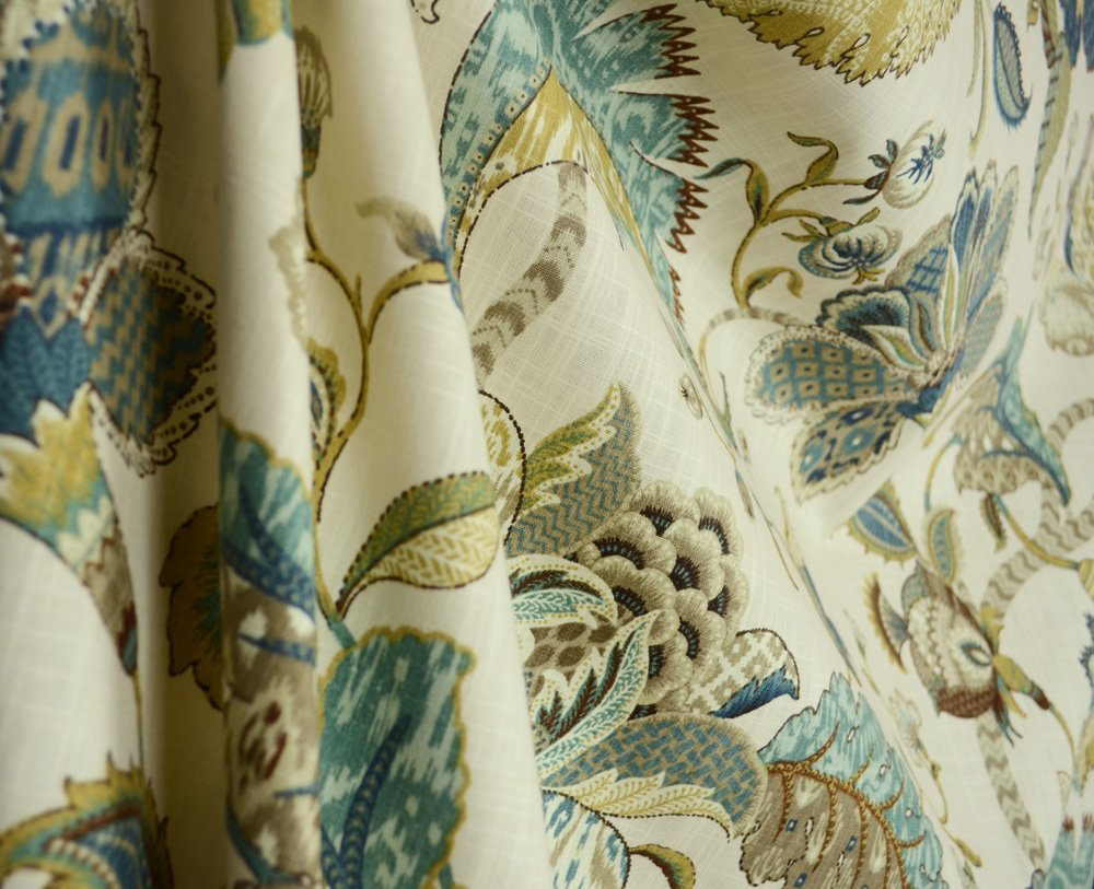 Amazon.com: P. Kaufmann Finders Keepers French Blue Fabric By The Yard