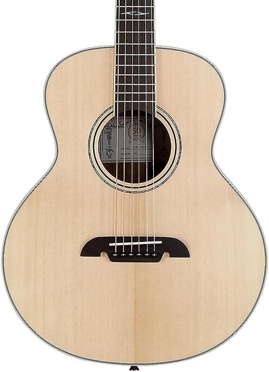 Alvarez lj2e Guitarra Acústica con bolsa: Amazon.es: Instrumentos ...