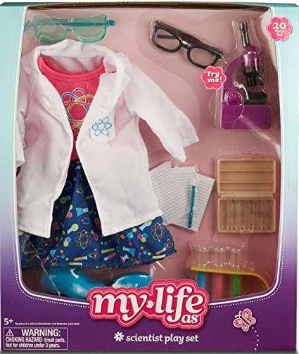 My Life brand As Biology Play Set Doll Accessories Toy Science new