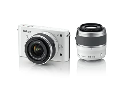 Nikon 1 j1 10 1 mp hd digital camera system with 10 30mm vr and 30