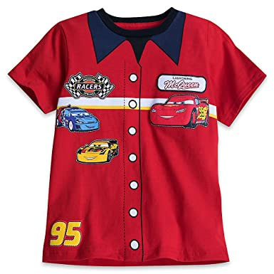 Amazon.com  Disney Cars Mechanic s Shirt T-Shirt for Boys Red  Clothing 8655e5ee6