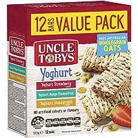 UNCLE TOBYS Yoghurt Variety Muesli Bars, 12 Bars Value Pack, 375g