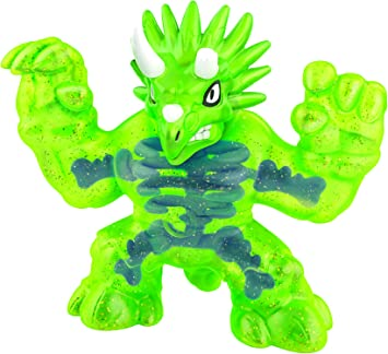 Heroes of Goo Jit Zu Dino X-Ray Hero Pack, Action Figure - Tritops The Triceratops