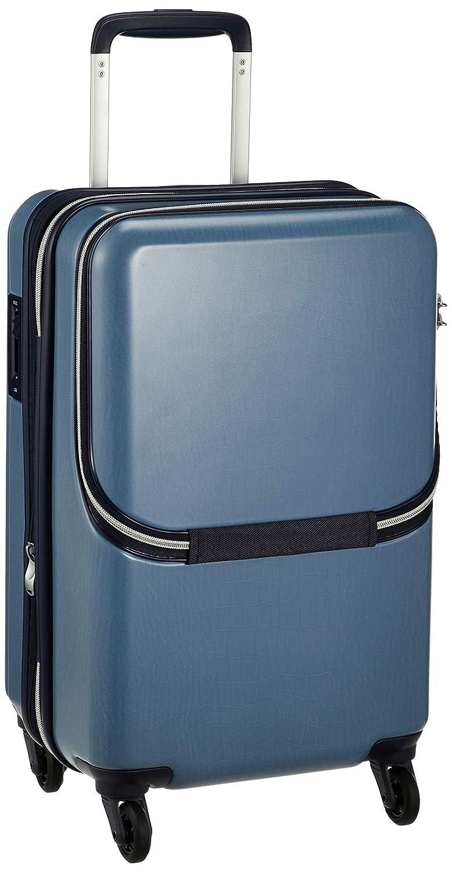 878374bff6 Amazon   [サンコー] ルーベルカキャリー スーツケース HSZ1-48 機内持込 フロントオープン 31L 48 cm 3.2kg ブルー    Sunco(サンコー)   スーツケース