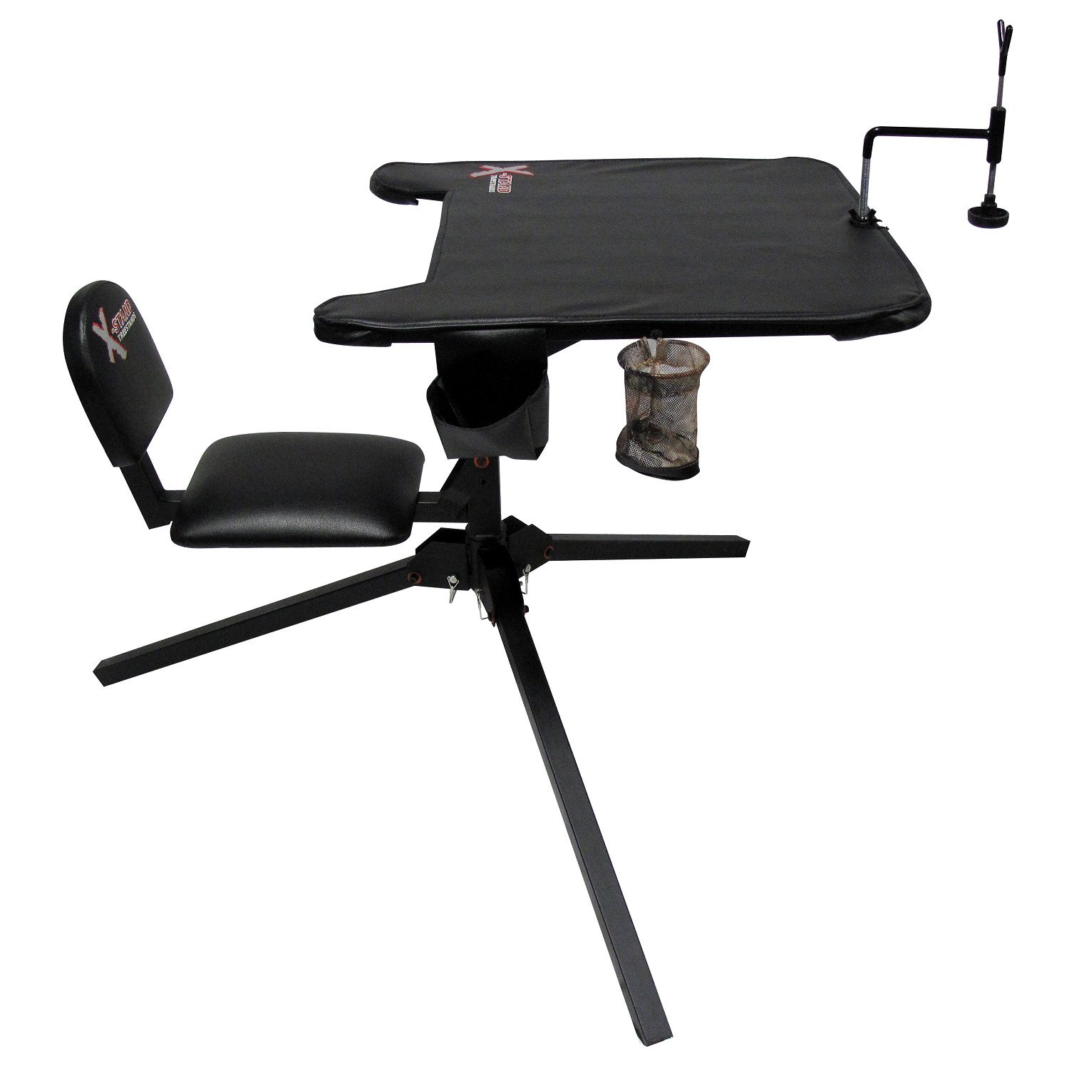 X-Stand x-Euctor 360 Shooting Bench 360 Swivel Black