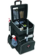 Rubbermaid Commercial Products Executive Janitorial Housekeeping Quick Cart (Large) (1902465)