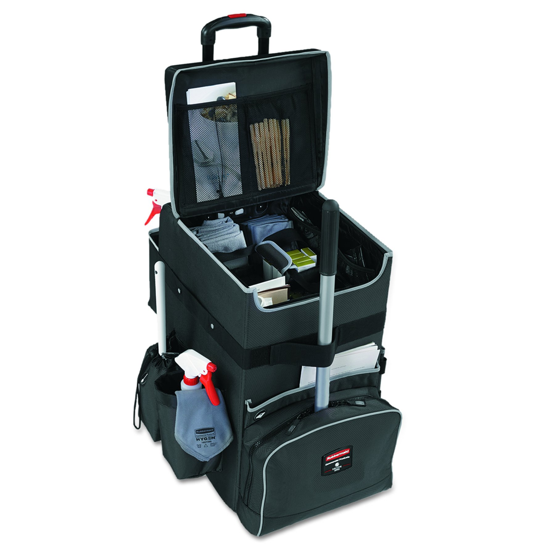 Rubbermaid Commercial Products Executive Janitorial Housekeeping Quick Cart, Large, 1902465 by Rubbermaid Commercial Products