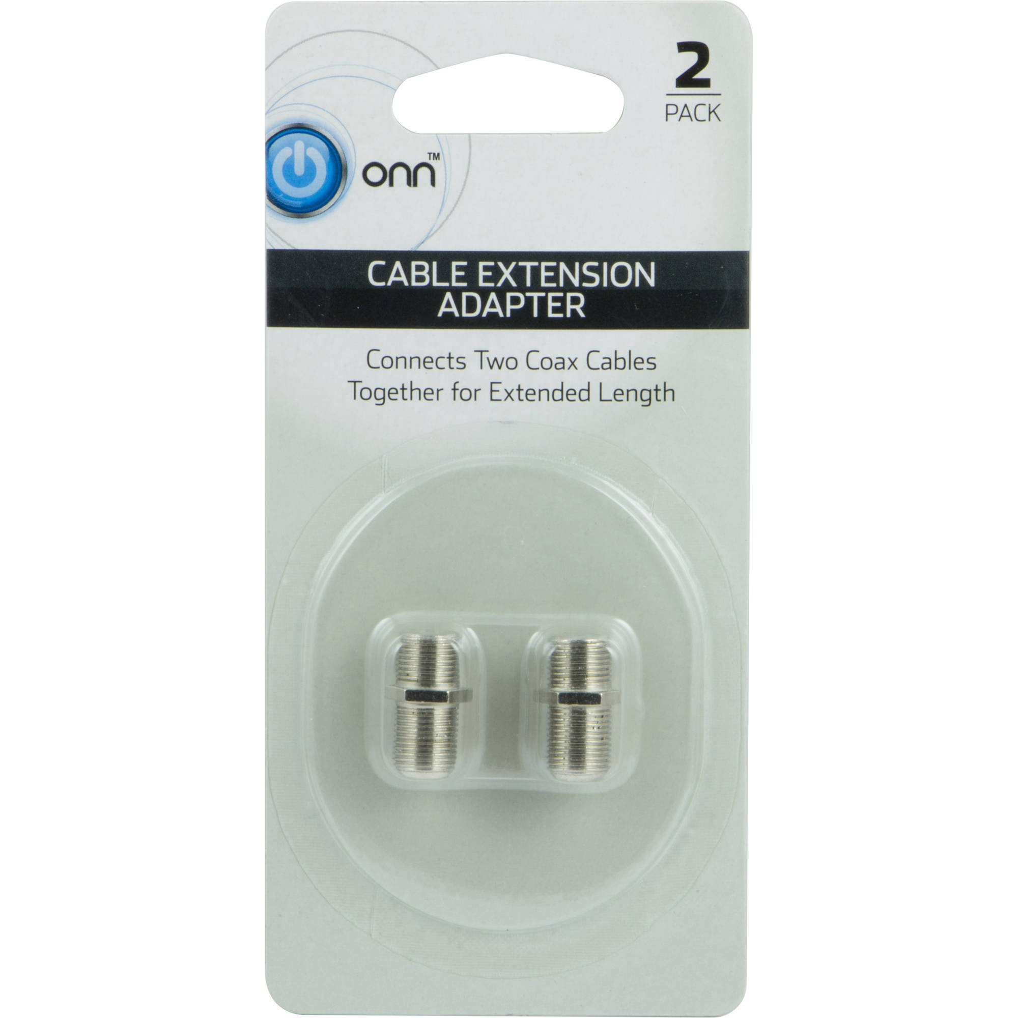 ONN ONA16AV005 cable extension adapter-2 pack
