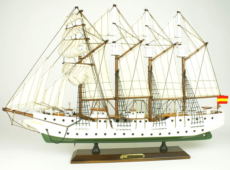 Maqueta de Barco montada Juan Sebasti/án Elcano