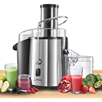Juicer Groente en Fruit - High Powered (850 W) met 2 snelheden - Centrifugaal sinaasappel en citrusvruchten Juicer…