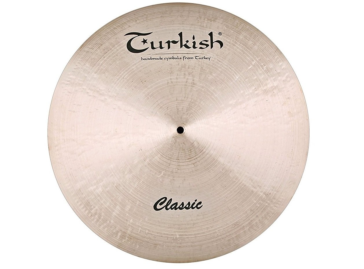 Turkish Cymbals Classic Series 24-inch Classic Ride C-R24   B072QFKQ48