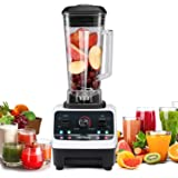 Commercial Blender HANMEIUS Smoothie Power Blender High Professional Food Processor Mixer Blender for Ice, Vegetable and Fruit
