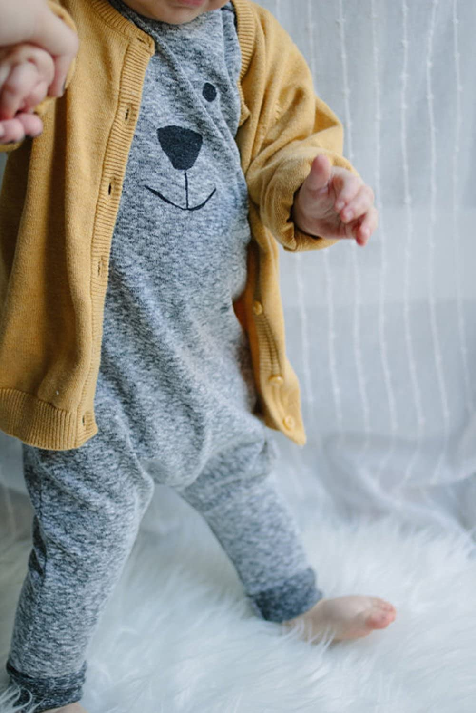 Amazon.com: Newborn Toddler Baby Girl Boy Bear Jumpers Rompers ...