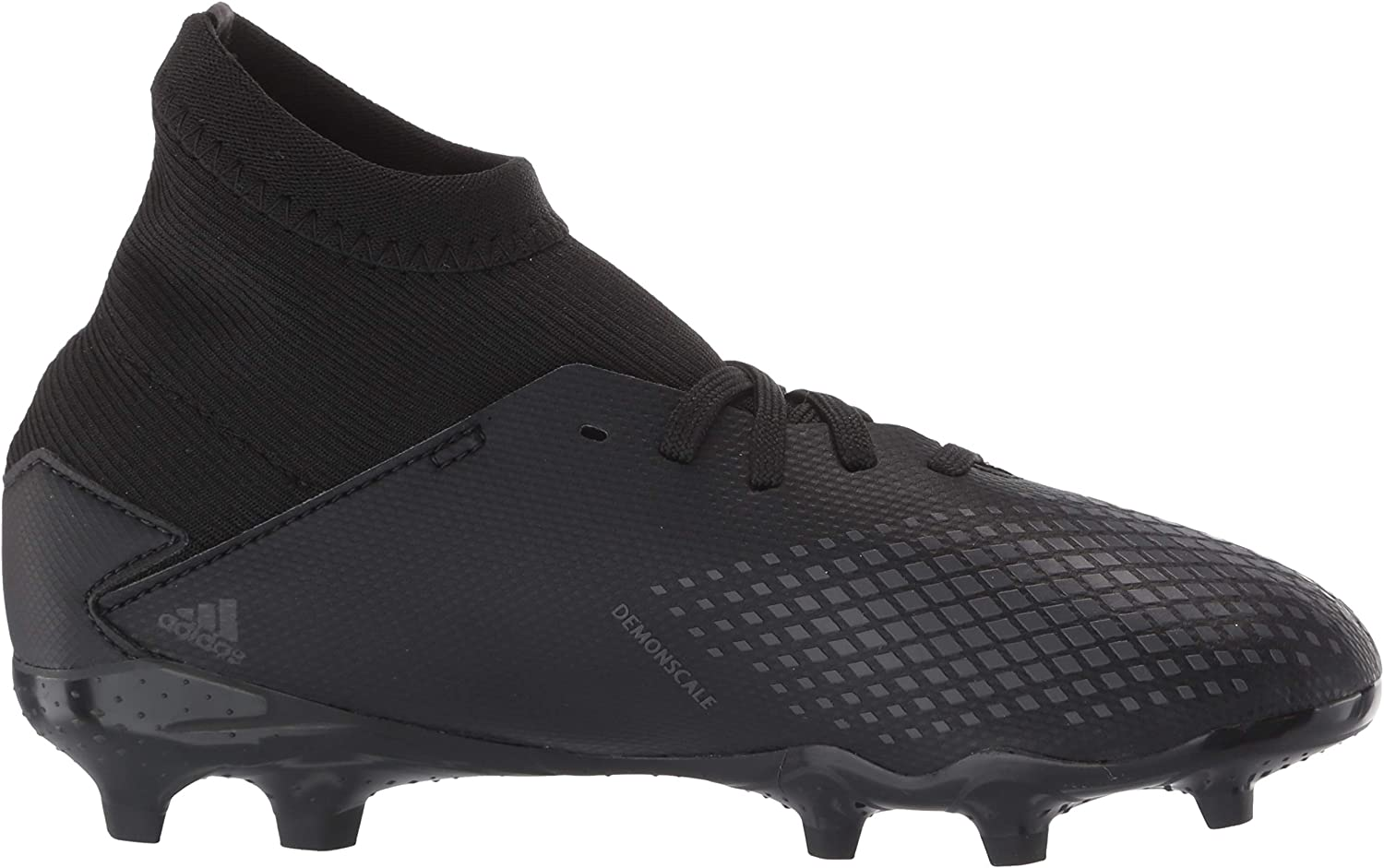 adidas Men's Predator 20.3 Firm Ground Sneaker Core Black/Core Black/Dgh Solid Grey