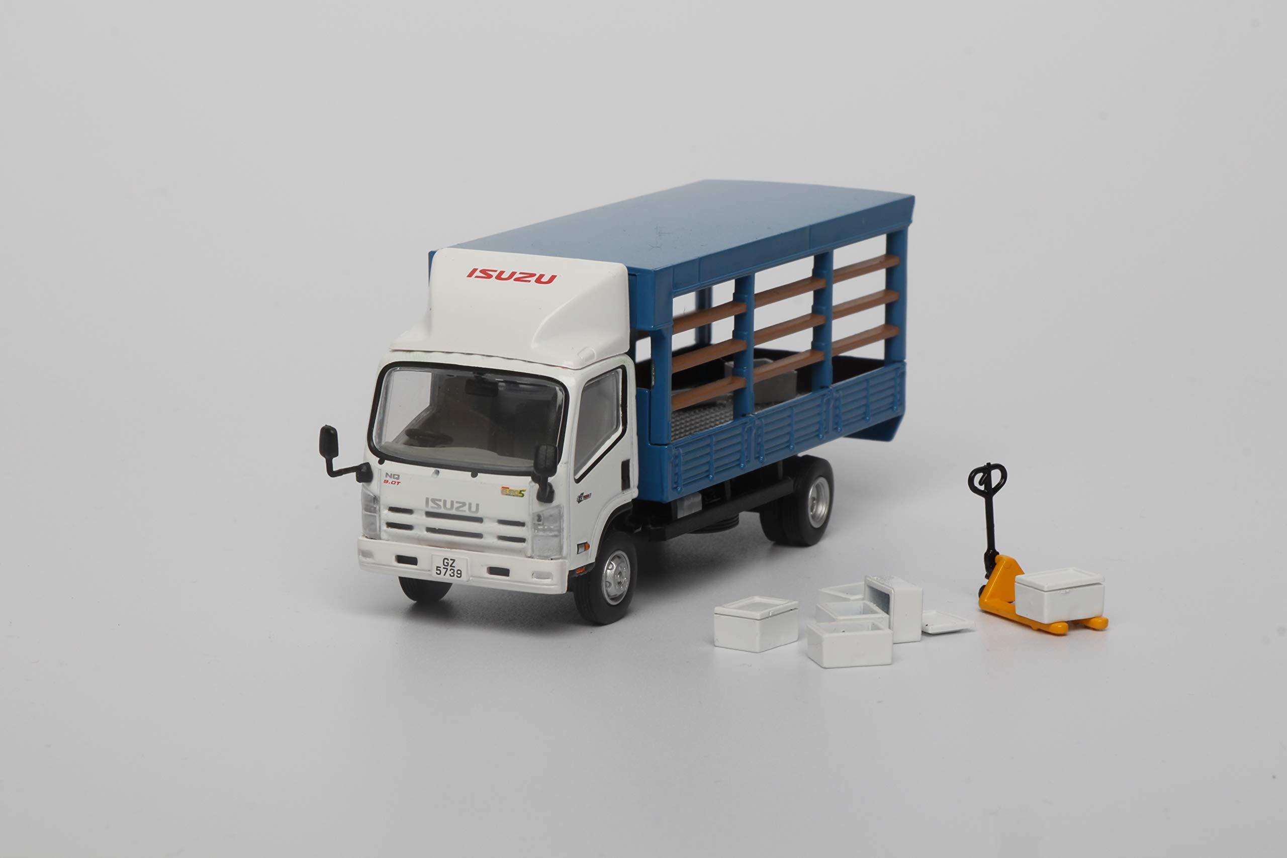 Realsoc Isuzu 1/64 Scale NQR75 Diecast Lorry Hong Kong Truck