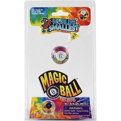 Worlds Smallest Magic 8 Ball Tie Dye, Multi, Model:5140: Toys & Games [5Bkhe0700672]