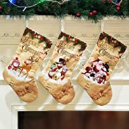 redcolourful Christmas Decoration Christmas Tree Pendant Cloth Ornaments Christmas Stockings Supplies Gift Bag Old Man Patte